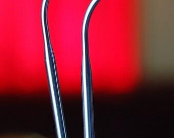 6016-10 16 inch (40cm) Size 10 (6.0mm) ChiaoGoo RED SS Circular