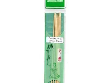 1016-_2 (2.0mm) ChiaoGoo DPN 6 Inch Size 2 Bamboo