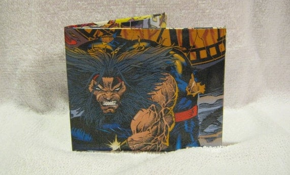 S C Comic Wallets - Age of Apocalypse Wolverine Cover Wallet