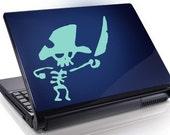 Pirate Skeleton with Sword Vinyl Decal Sticker