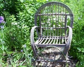 Plan Rustic Twig Bent Willow Chair Adult Size How to make build  your own Rustic Furniture DIY eco friendly