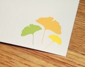 Gingko Notecards - Reserved for Erica