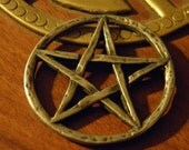 Hand crafted and cast Pentagram