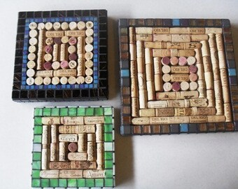 Made to Order U-Fill  Wine Cork Trivet Frame