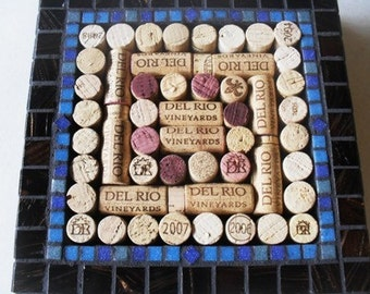 10 in U-Fill Wine Cork Trivet - Made to Order