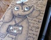 Illustrated Moleskine Notebook, Nellie the Elephant