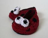 Crochet PATTERN ladybug baby booties (64)