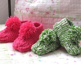 Cozy Booties, child to adult sizes Made to order...