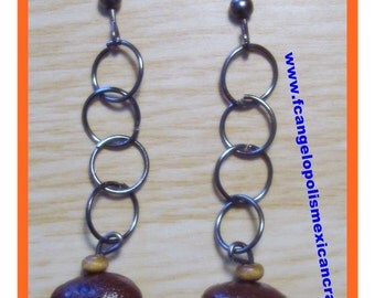 FRAGRANT BEAN - HaNdMaDe EaRRiNgS WiTh ReaL CoFFee BeAnS