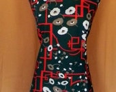 Vintage Plus size 60s day dress