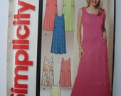 Simplicity 5623 Sewing Pattern Misses' Pullover Dress or Jumper (Size A XS-XL)