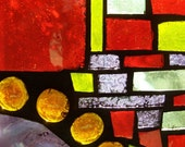 OOAK Stained Glass Mosaic Sun Catcher RESERVED FOR SPARS4