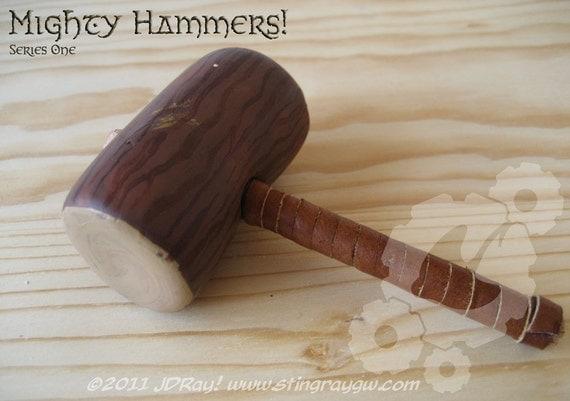 "Miniature Mighty War Hammer ""Oaken Mallet"""