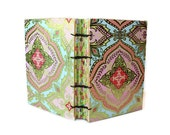 Foiled Pink and Gold Coptic Bound Journal