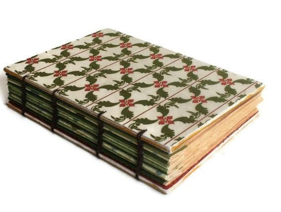 Winter Velvet Handmade Journal