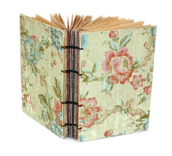 Soft Floral Handmade Journal