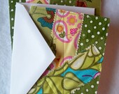 Quilted Notecard Set