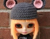 Cute MOUSE Hat for Blythe