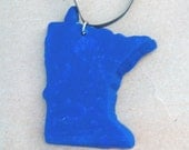 Happy Minnesotan Necklace Ocean