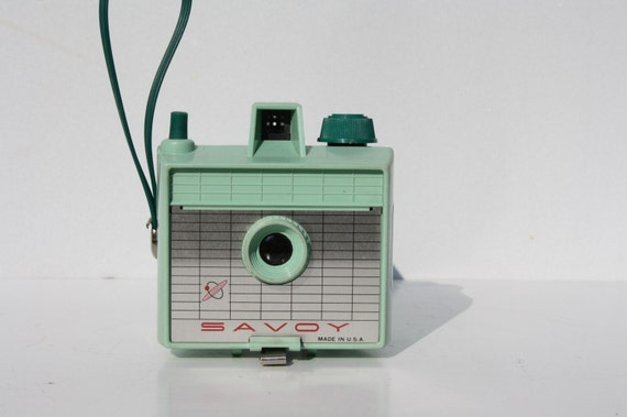 Vintage Savoy Camera Mint Green