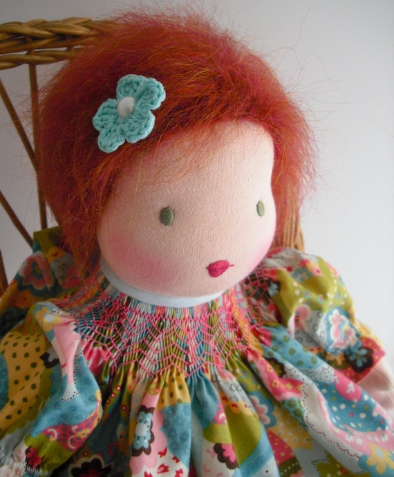 RESERVED for Susan Shepheard...Waldorf Doll...16 Inch Girl Doll...Age 4 and Up...Maddie
