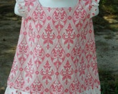 SAMPLE SALE 6 to 9 Month Flutter Sleeve Ruffle Dress