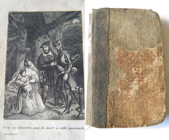 1839 antique french book