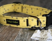 "Dog Collar ""Buzzing Bees"""