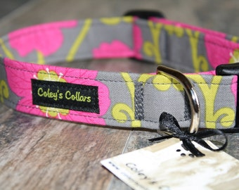 "Dog Collar ""The Fab in Floral"""
