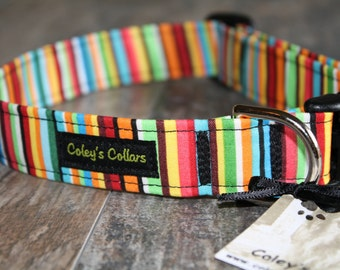 "Dog Collar ""A Sunshine Day"""