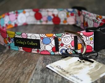 "Dog Collar Custom ""The Retrodelic"""