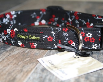 "Dog Collar ""Bella's Garden"""