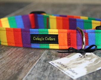 """Dog Collar """"Over the Rainbow"""""""