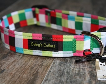 "Dog Collar ""The Check Me"""