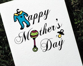 First Mothers Day Card for a New Mom