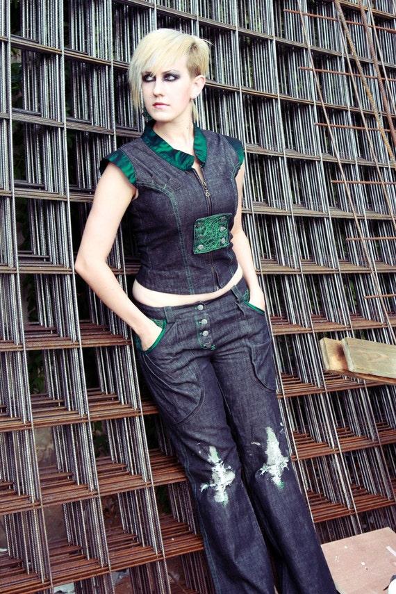 Cyber Jeans Garment