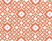 Spirit in Orange and Gray from the Good Fortune Collection, by Moda, 1 yard