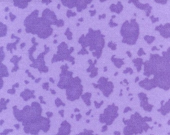 SALE! Moo Cow Magic in Lavender, by Fun Factory, London for Moda, 1 yard