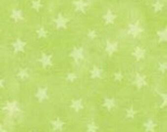 SALE! Lime Marble Star, by Moda, 1 yard