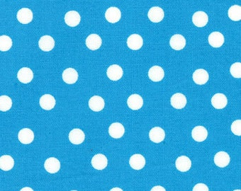 Turquoise Polka Dot from the Welcome to Bear Country Collection, by Moda