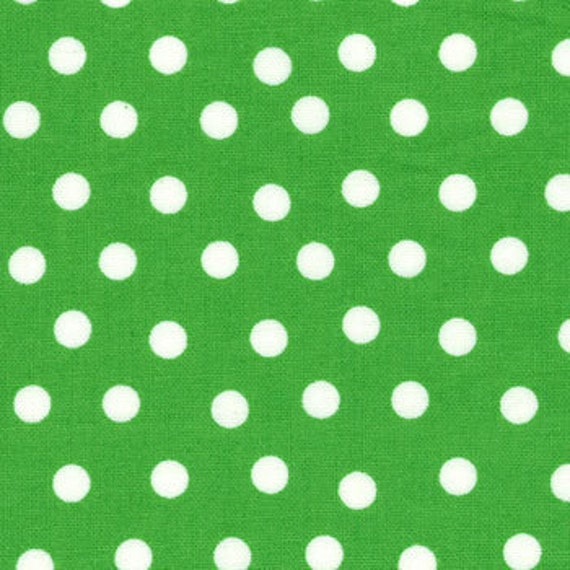 Green (Kelly) Polka Dot from the Welcome to Bear Country Collection, by Moda, 7/8 yard