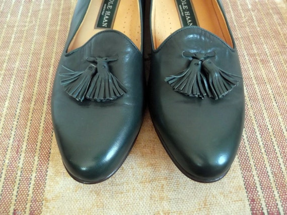 Vintage Cole Haan Tassel Loafers Size 10 New Old Stock