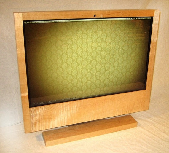 Apple iMac Custom Cover - The Maplewood - Solid Maple  - very special offer on this model