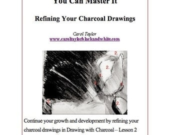 DRAWING with CHARCOAL - Art Lesson 2