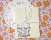 you're sweet, cupcake. set of (6) cards.