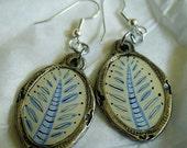 Ice Fern Earrings