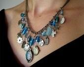 Ancient Aqua - Necklace