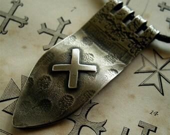 Saltire - Heraldic Pendant Necklace