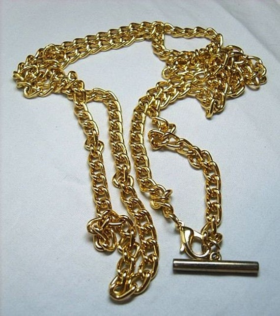Vintage WATCH Chain Very Long Watch Chain