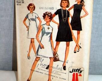 Simplicity 1970 dress pattern